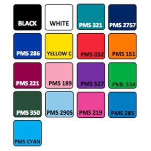 Choose from a wide range of colours for your perfect branded yoyo!