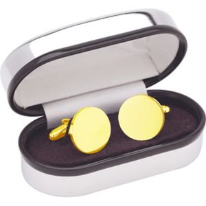 Personalised Cufflinks in Gold