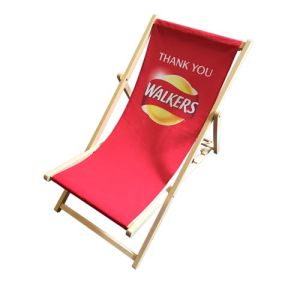 Choose the perfect artwork to ensure your branded deck chairs truly stand out!