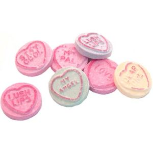 Love Hearts Sweets Pot