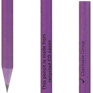 Corporate printed pencils with branded company details