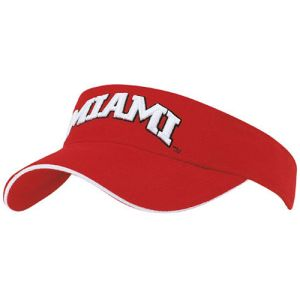 Promotional Sun Visor in Red