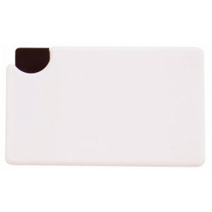 Push Button Mint Cards in White/Black