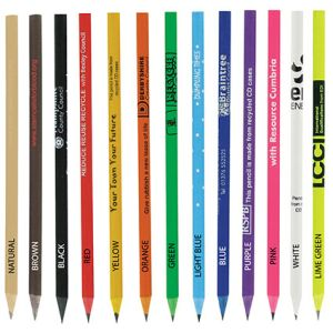 Branded pencils for workplace business gifts