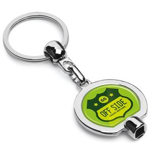 Branded Valve Key Keyrings for Staff Handouts