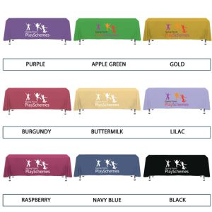 Promotional table cloths for catering