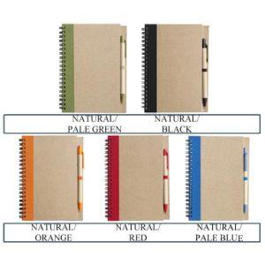 Promotional notepads for desktop advertising