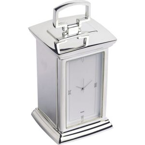 Regent Carriage Clocks in Silver