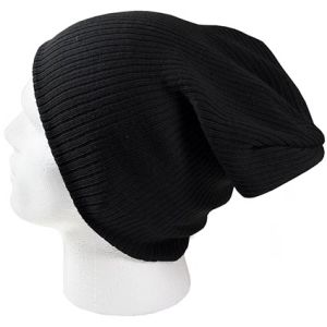 Ribbed Slouch Beanies