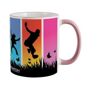 Rim and Handle Full Colour Mugs