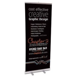 Branded banners for event advertising