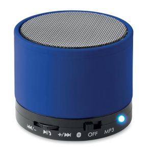 Round Bluetooth Speakers in Royal Blue