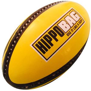 Rugby Ball in Yellow