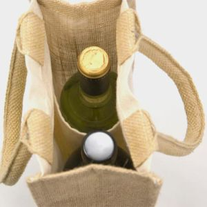 These branded bottle bags are ideal for holding up to two bottles