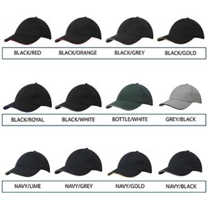 Custom branded hats for events colours