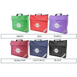 Available in 7 different colours, there's a branded school bag to suit every institution's branding!