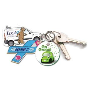 Full Colour Foam Keyrings