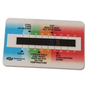 Temperature Gauge Cards