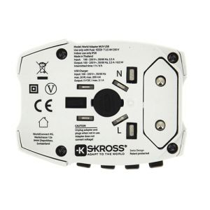 Branded travel adaptors for holiday merchandise