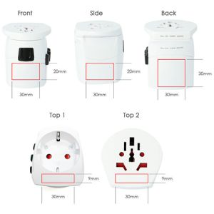Skross Pro Light World Travel Adaptors