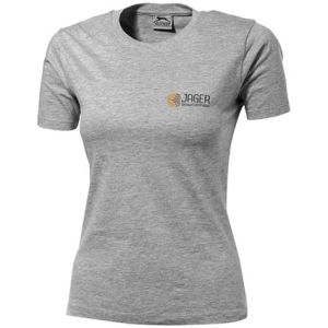 Slazenger Ladies T-Shirts in Sport Grey