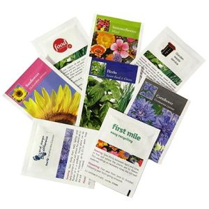 Whether your target customer is a student or a professional, these promotional seed packets can appeal to anyone