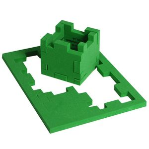 Small Snafooz Puzzle in Green