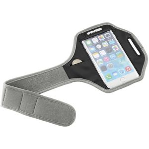 Smartphone Arm Straps in Light Grey