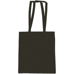 Snowdown Cotton Tote Bags in Black