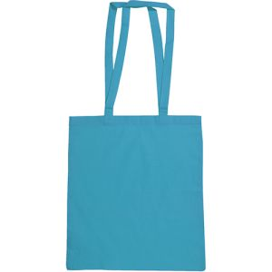 Snowdown Cotton Tote Bags in Bright Blue