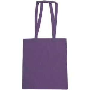 Snowdown Cotton Tote Bags in Purple