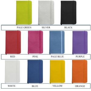 Custom printed business notebooks university ideas