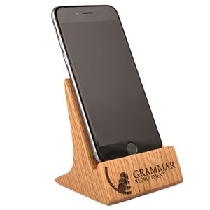 Solid Oak Phone Stands