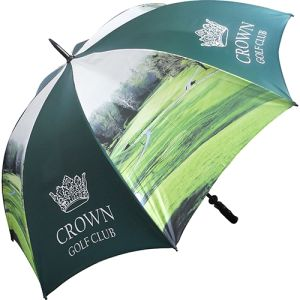 Printed umbrellas with event designs