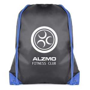 Custom Printed Drawstring Bags printed for company merchandise