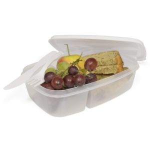 Promotional Split Cell Lunch Boxes for School Merchandise