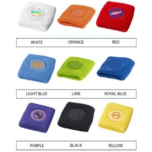 Promo sweatbands for fitness campaigns colours