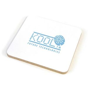 Square Cork Backed Coasters