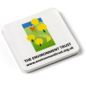 Promotional Square Recycled Plastic Magnets for Office Giveaways