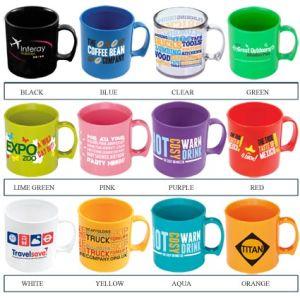 Standard Plastic Mugs