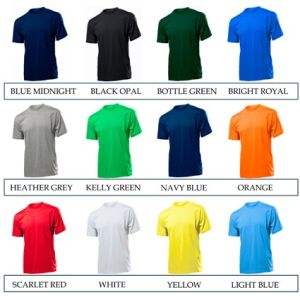Promotional t shirts for company giveaways