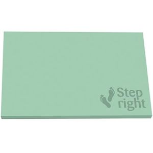 Custom branded post its with logos