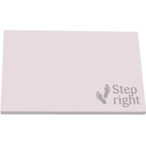 Promotional sticky notes with business designs