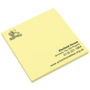 Promotional Company Sticky Notes 3x3 for workplaces