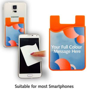 Sticky Screen Cleaner Phone Card Holders