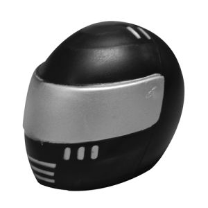 Branded Crash Helmet Stress Balls for Corporate Designs