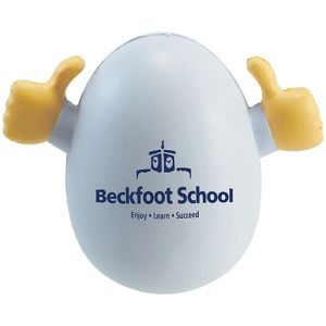 Printed Rocker Egg Stress Balls for Exhibition Ideas