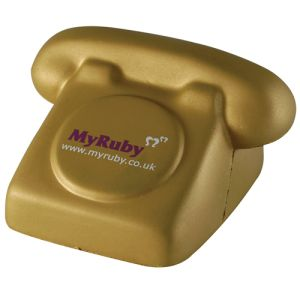 Personalised Phone Shaped Stress Balls for Event Merchandise