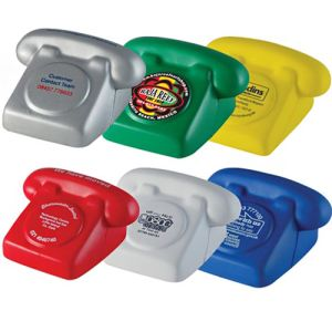 These Branded Stress Ball Phones are Available in 6 Popular colours