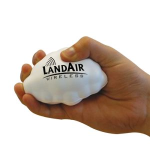 Promotional Cloud Shaped Stress Balls for Company Giveaways
